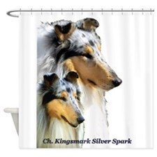 Collie Shower Curtain