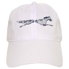 Leaping English Setter Baseball Cap