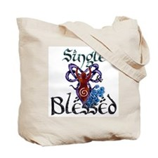 SINGLE & BLESSED! Tote Bag