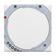 Pentax K mount Tile Coaster