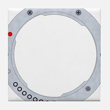 Pentax K mount Tile Coaster