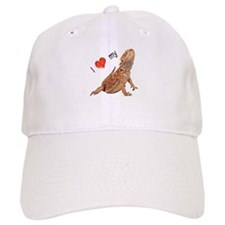I luv my Bearded Dragon Baseball Cap