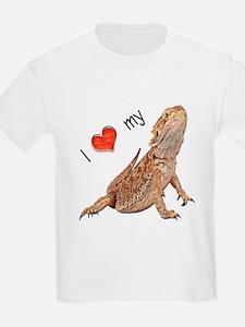 I luv my Bearded Dragon Kids T-Shirt