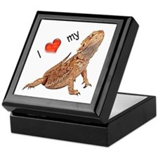 I luv my Bearded Dragon Keepsake Box