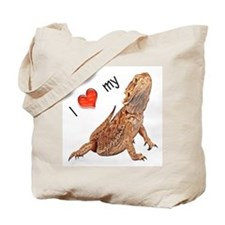 I luv my Bearded Dragon Tote Bag