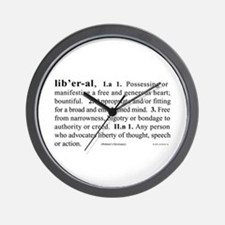 Liberal Wall Clock