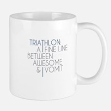 Triathlon Awesome Vomit Mug
