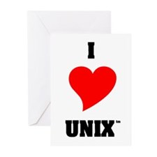 Unix Lovers Greeting Cards (Pk of 10)