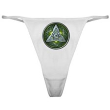 Norse Valknut - Green Classic Thong
