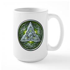 Norse Valknut - Green Mug