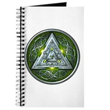 Norse Valknut - Green Journal