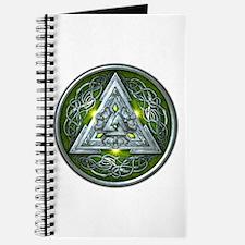 Norse Valknut - Green Journal