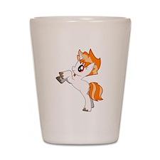 DTrace Cute Pony Shot Glass