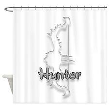 Hunter Logo Shower Curtain