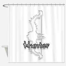 Hunter Logo Shower Curtain