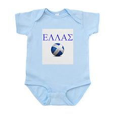 Ellas Soccer Infant Bodysuit