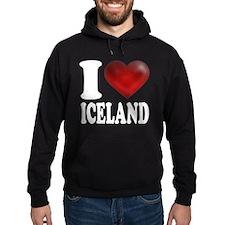 I Heart Iceland Hoodie