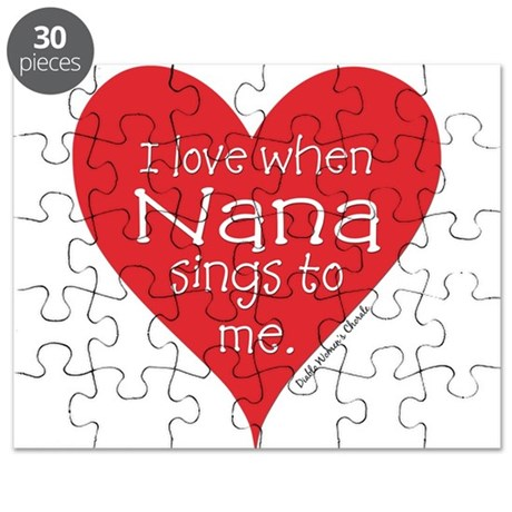 I Love When Nana Sings Puzzle