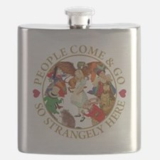 People Come & Go So Strangely Here Flask