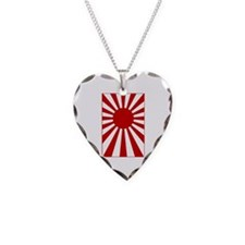 Rising Sun Flag 3 Necklace