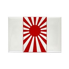 Rising Sun Flag 3 Rectangle Magnet