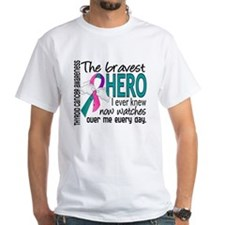 Bravest Hero I Knew Thyroid Cancer Shirt