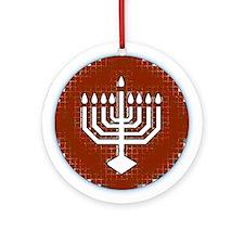 Unique Menorah Hanukkah Ornament