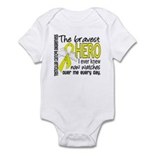 Bravest Hero I Knew Testicular Cancer Infant Bodys