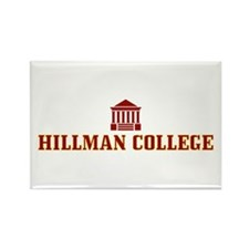 Hillman College Rectangle Magnet