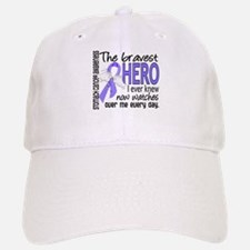 Bravest Hero I Knew Stomach Cancer Baseball Baseball Cap