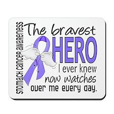 Bravest Hero I Knew Stomach Cancer Mousepad