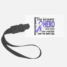 Bravest Hero I Knew Stomach Cancer Luggage Tag