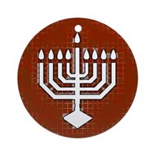 Unique Menorah Hanukkah Ornament