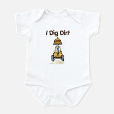 I Dig Dirt Baby Onepiece