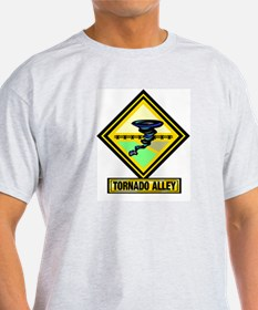 Tornado Alley Ash Grey T-Shirt
