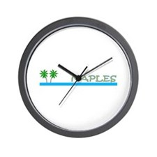 Unique Naples florida Wall Clock