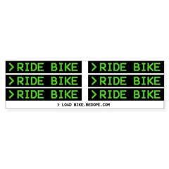 >Ride Bike stickers