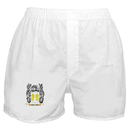 Colling Family Crest - Colling Coat o Boxer Shorts