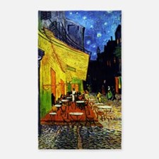 Van Gogh Cafe Terrace At Night 3'x5' Area Rug
