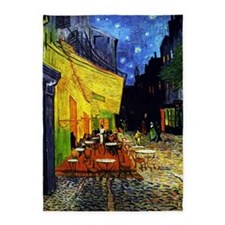 Van Gogh Cafe Terrace At Night 5'x7'Area Rug