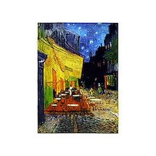 Van Gogh Cafe Terrace At Night 5'x7'Area Rug