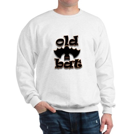 Halloween Old Bat Sweatshirt