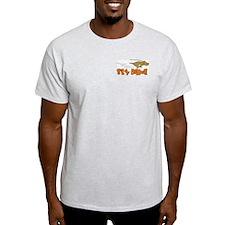 Sly Dawg Ash Grey T-Shirt