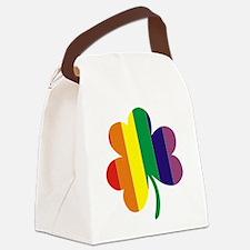 Irish Pride Shamrock Canvas Lunch Bag
