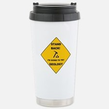 Stand Back Geo 1 Stainless Steel Travel Mug