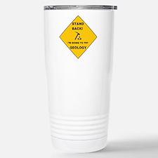 Stand Back Geo 1 Thermos Mug