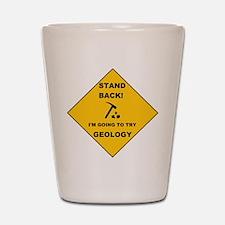 Stand Back Geo 1 Shot Glass