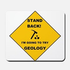 Stand Back Geo 1 Mousepad