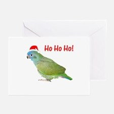 Ho Ho Ho (pionus) Greeting Cards (Pk of 10)
