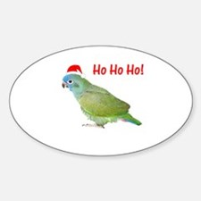Ho Ho Ho (pionus) Oval Decal
